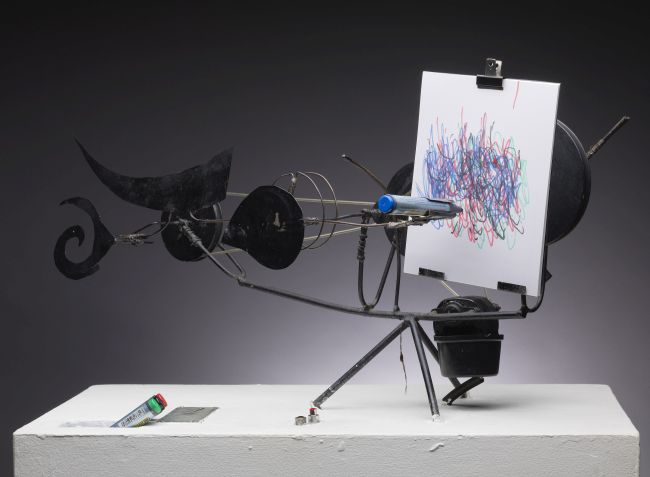 Tinguely S Motorized Machine Sculptures At Amos Anderson