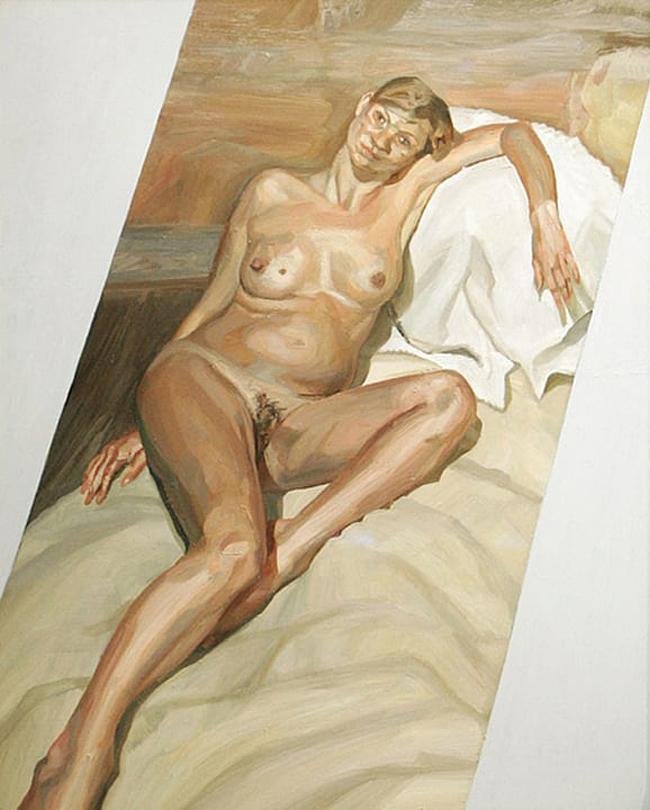 Speaking, Lucian freud naked portrait